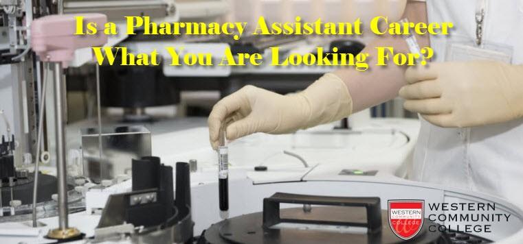 Pharmacy Assistant Career
